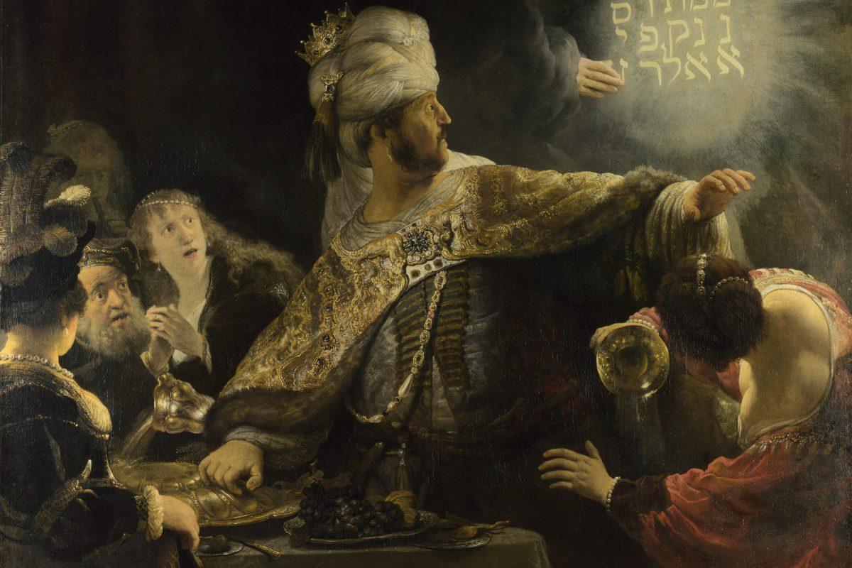 Rembrandt-Belsazar